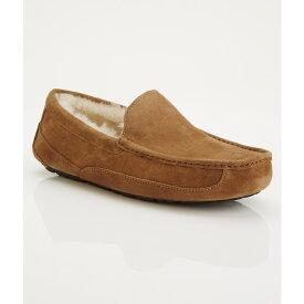 アグ メンズ シューズ・靴 スリッパ【UGG Ascot Suede Slippers】Chestnut