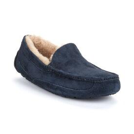 アグ メンズ シューズ・靴 スリッパ【UGG Ascot Suede Slippers】New Navy