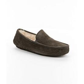 アグ メンズ シューズ・靴 スリッパ【UGG Ascot Suede Slippers】Charcoal