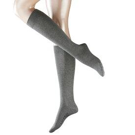 ファルケ レディース インナー・下着 タイツ・ストッキング【Falke Sensitive London Cotton Knee Highs】Light Grey Melane