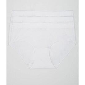 ヘインズ Hanes レディース インナー・下着 ショーツのみ【Ultimate X-Temp Comfort Hipster 3-Pack】White