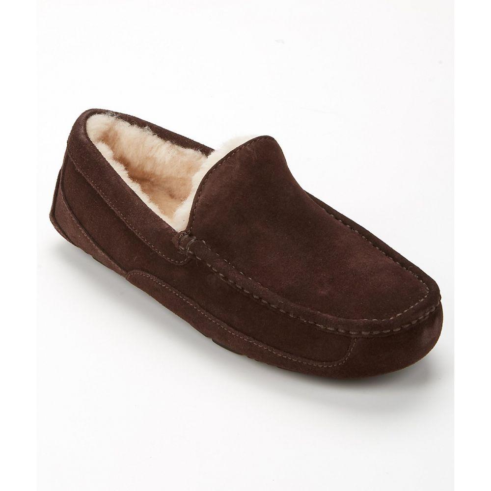 アグ UGG メンズ シューズ・靴 スリッパ【Ascot Suede Slippers】Espresso
