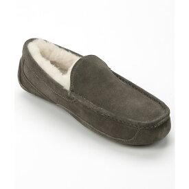アグ UGG メンズ シューズ・靴 スリッパ【Ascot Suede Slippers】Charcoal