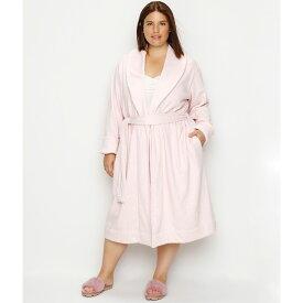 アグ UGG レディース ガウン・バスローブ インナー・下着【Plus Size Duffield Shawl Collar Plush Robe】Seashell Pink