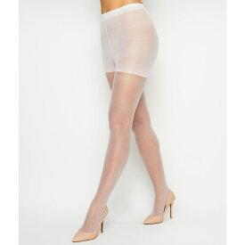 ヘインズ Hanes レディース タイツ・ストッキング インナー・下着【Silk Reflections Sheer Toe Control Top Pantyhose】White