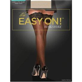 バークシャー Berkshire レディース タイツ・ストッキング インナー・下着【The Easy On Luxe Thigh Highs】City Beige