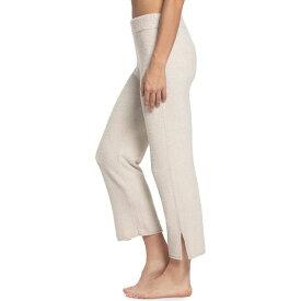 ベアフットドリームス Barefoot Dreams レディース パジャマ・ボトムのみ インナー・下着【Cozychic Lite Cropped Lounge Pants】Heather Stone/Pearl