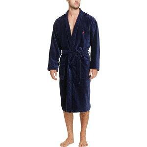 ラルフ ローレン Polo Ralph Lauren メンズ ガウン・バスローブ インナー・下着【velour kimono robe】Navy