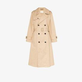 メゾン マルジェラ Maison Margiela レディース トレンチコート アウター【collared cotton trench coat】brown