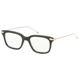 【即納】トム ブラウン Thom Browne メンズ メガネ・サングラス【Glasses TB 701 a】Black/White Gold ウェリントン 眼鏡