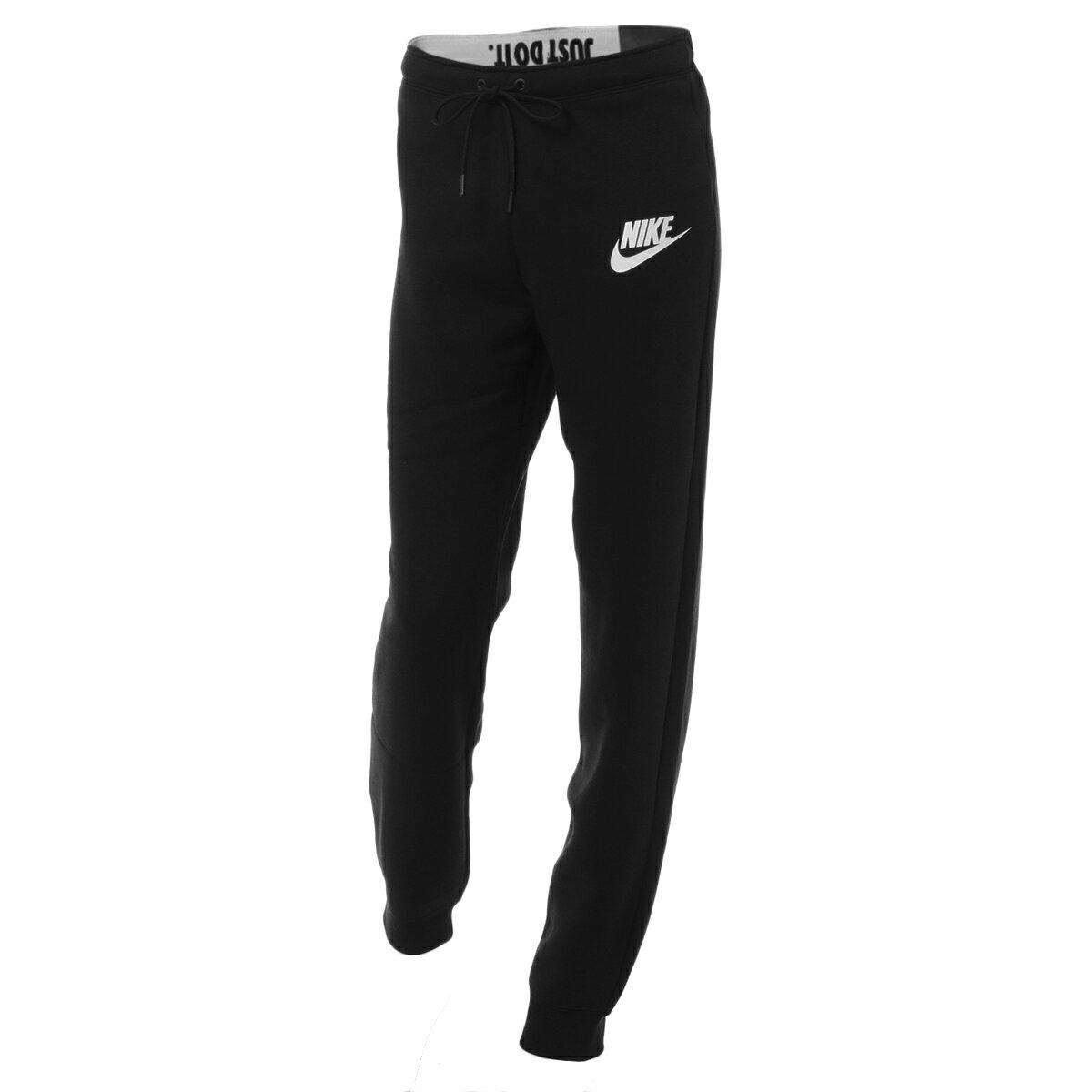 【即納】ナイキ Nike レディース ボトムス・パンツ スウェット・ジャージ【Rally Slim Fit Sweat Pants】Black/black/(white)