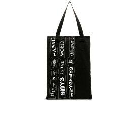 【即納】ワイスリー Y-3 Yohji Yamamoto メンズ バッグ トートバッグ【Slogan Tote】Black