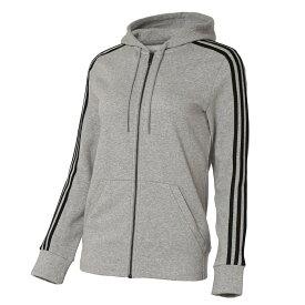 【即納】アディダス adidas レディース トップス パーカー【full zip hoodie】GRAY