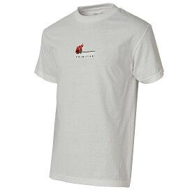 【即納】プリミティブ PRIMITIVE メンズ トップス Tシャツ【BURNING TEE】WHITE