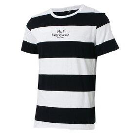 【即納】ハフ HUF メンズ トップス Tシャツ【INVERT REVERSIBLE S/S KNIT TOP】BLACK