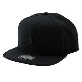【即納】ナイキ ジョーダン NIKE JORDAN メンズ 帽子 キャップ【JORDAN PRO JUMPMAN SNAPBACK】011 BLACK/BLACK