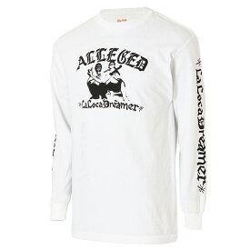 【即納】ルーカ RVCA メンズ トップス 長袖Tシャツ【alleged ls Tee】white
