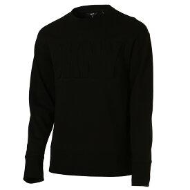 【即納】ダナ キャラン ニューヨーク DKNY メンズ トップス スウェット・トレーナー【L/S EBOSSED CREW INT】010BLACK