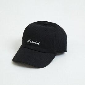 【即納】エンコーデッド ENCODED メンズ 帽子 キャップ【ENBROIDERY STREAM CAP】black
