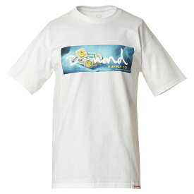 【即納】ダイアモンドサプライ Diamond Supply Co メンズ トップス Tシャツ【CITRINE BOX LOGO S/S TEE】WHITE ボックスロゴT