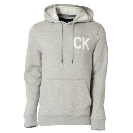 【即納】カルバンクライン Calvin Klein メンズ トップス パーカー【NEW ICONIC GRAPHIC HOODIE】MED CHARCOAL HTR フーディー フード