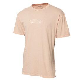 【即納】プリミティブ Primitive メンズ トップス Tシャツ【WAVE PIGMENT DYED TEE】Peach