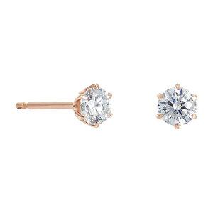 K18ピンクゴールド ダイヤモンド0.3ct ピアス【festaria bijou SOPHIA フェスタリア ビジュソフィア】【誕生日プレゼント】