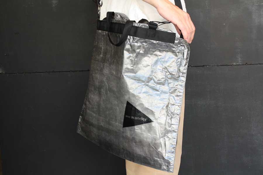 ■【送料無料】and wander アンドワンダー cuben fiber stuffsack large キューベンファイバー スタッフサック(L)