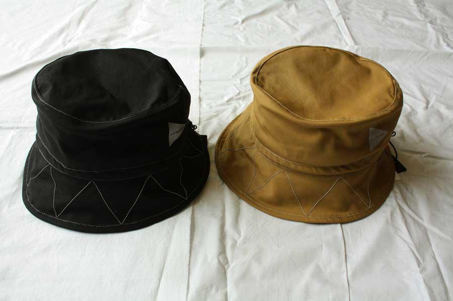 【送料無料】and wander アンドワンダー 60/40 cloth hat