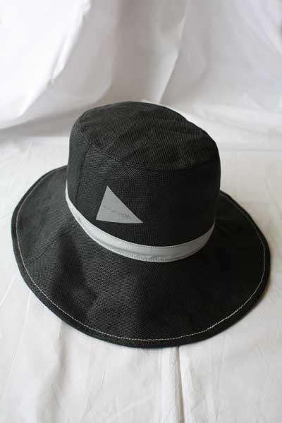 ■【送料無料】and wander アンドワンダー paper cloth hat ハット