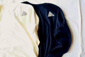■【送料無料】and wander アンドワンダー dry jersey long sleeve T(W) ロングスリーブTシャツ