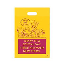 AC-3 アメリカンコミックPEバッグ-3 (100入) [包装資材 ラッピング 袋 おしゃれ かわいい バッグ 袋・PE平袋+底マチ][13/1210]{子供会 景品 お祭り くじ引き 縁日}