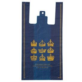 CRW-M クラウンレジバッグ−M(100入)[包装資材 ラッピング 袋 おしゃれ かわいい バッグ レジ袋]603[14/0416]{子供会 景品 お祭り くじ引き 縁日}