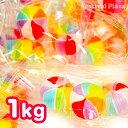 風車飴 1kg(約234粒入) 【駄菓子】{子供会 景品 お祭り くじ引き 縁日 なつかし キャンディー 飴 あめ ドロップ}[17K01]