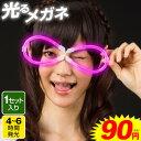 ルミカ 光るメガネ 全3色[ルミカ ルミカライト ケミカルライト サイリューム サイリウム]{エレクトリックラン 光るお…