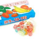 フルーツ糸引き飴 60入【駄菓子】{子供会 景品 お祭り くじ引き 縁日}