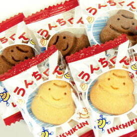 ¥3000(税抜) うんちくんクッキー 200入{子供会 景品 お祭り 縁日 駄菓子 問屋}