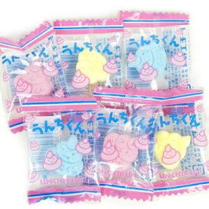 袋売 ¥2000(税抜) うんちくんラムネ 200入{子供会 景品 お祭り 縁日 駄菓子 問屋}
