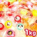 【駄菓子】 ミニラブリーキャンディー 金太郎飴 1kg(約250粒入 [17K01]