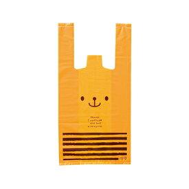 CDB-S キャンディベアレジバッグ-S (100入) [包装資材 ラッピング 袋 おしゃれ かわいい バッグ レジ袋][13/1210]{子供会 景品 お祭り くじ引き 縁日}