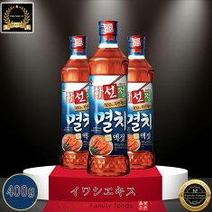 韓国魚醤油ミョルチイワシエキス