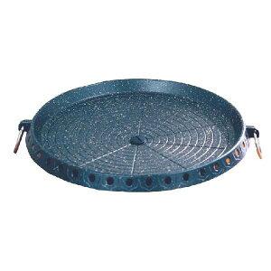 韓国 ハナロ 鉄板 (円形/32cm) 焼肉 丸型 鉄板 マルチ鉄板プレート・焼肉 すき焼き サムギョプサル
