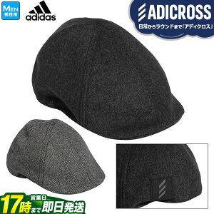 【FG】2020年モデル アディダス ゴルフ IUH93 ADICROSS アディクロス ヘリンボン ハンチング キャップ (メンズ)