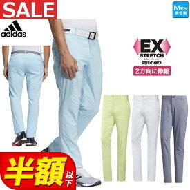 【FG】【30%OFF・SALE・セール】2021年春夏 アディダス ゴルフウェア 23079 EX STRETCH シャンブレー パンツ [ストレッチ UPF50+] (メンズ)