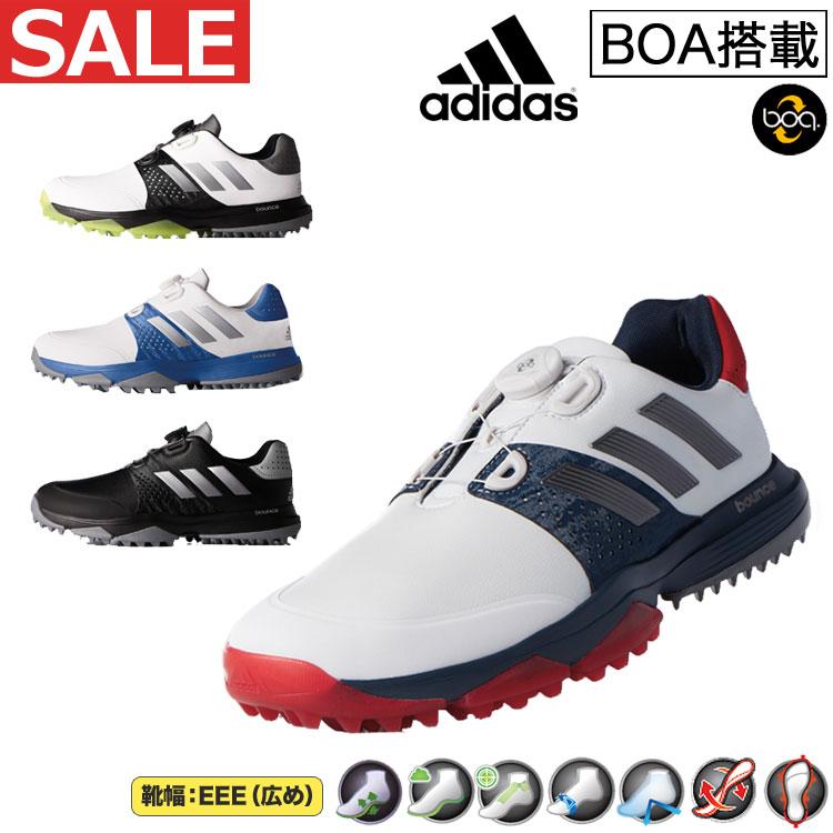 【FG】日本正規品adidas アディダス ゴルフシューズ アディパワー バウンス ボア/adipower bounce Boa(メンズ)