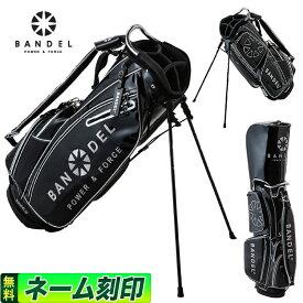 【FG】2019年 新作 BANDEL GOLF バンデル ゴルフ 2019 golfbag black ゴルフバッグ ブラック 19GBB スタンドバッグ キャディバッグ