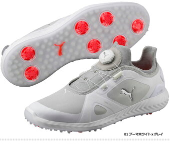 【日本正規品】2018年新作PUMAGOLFプーマゴルフ190582IGNITEPWRADAPTDISCイグナイトパワーアダプトディスクゴルフシューズ(メンズ)【U10】