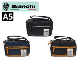 【キャンペーンエントリーでポイント最大26倍!】 特典付 正規品 ポイント15倍 ビアンキ Bianchi 2ルーム ショルダーバッグ NBTC-56 rowa12