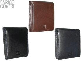 【キャンペーンエントリーでポイント最大26倍!】 特典付 正規品 ポイント10倍 エンリコ コベリ ENRICO COVERI オブリガートシリーズ 二つ折り財布 2つ折財布 ECM043 snma05