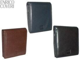 【キャンペーンエントリーでポイント最大26倍!】 特典付 正規品 ポイント10倍 エンリコ コベリ ENRICO COVERI オブリガートシリーズ ブック型 二つ折り財布 2つ折財布 ECM044 snma05